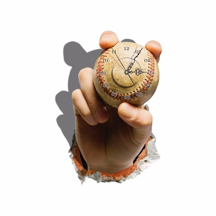 baseball 3d adesivo de parede