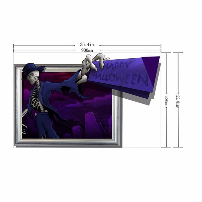 Skulls 3D Wall Decals