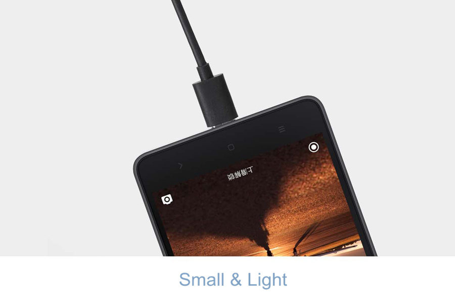Original Xiaomi USB 3.0 Type-C 100cm 2.1A Black Charger Date Cable for Xiaomi Mi 4C