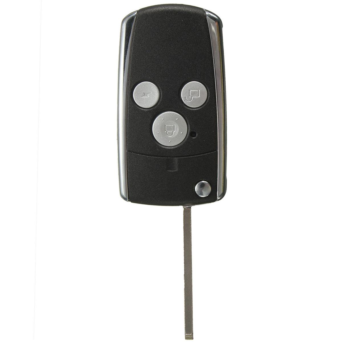 3 Buttons Remote Black Flip Key Shell For Honda JAZZ CRV Odyssey CIVIC ACCORD