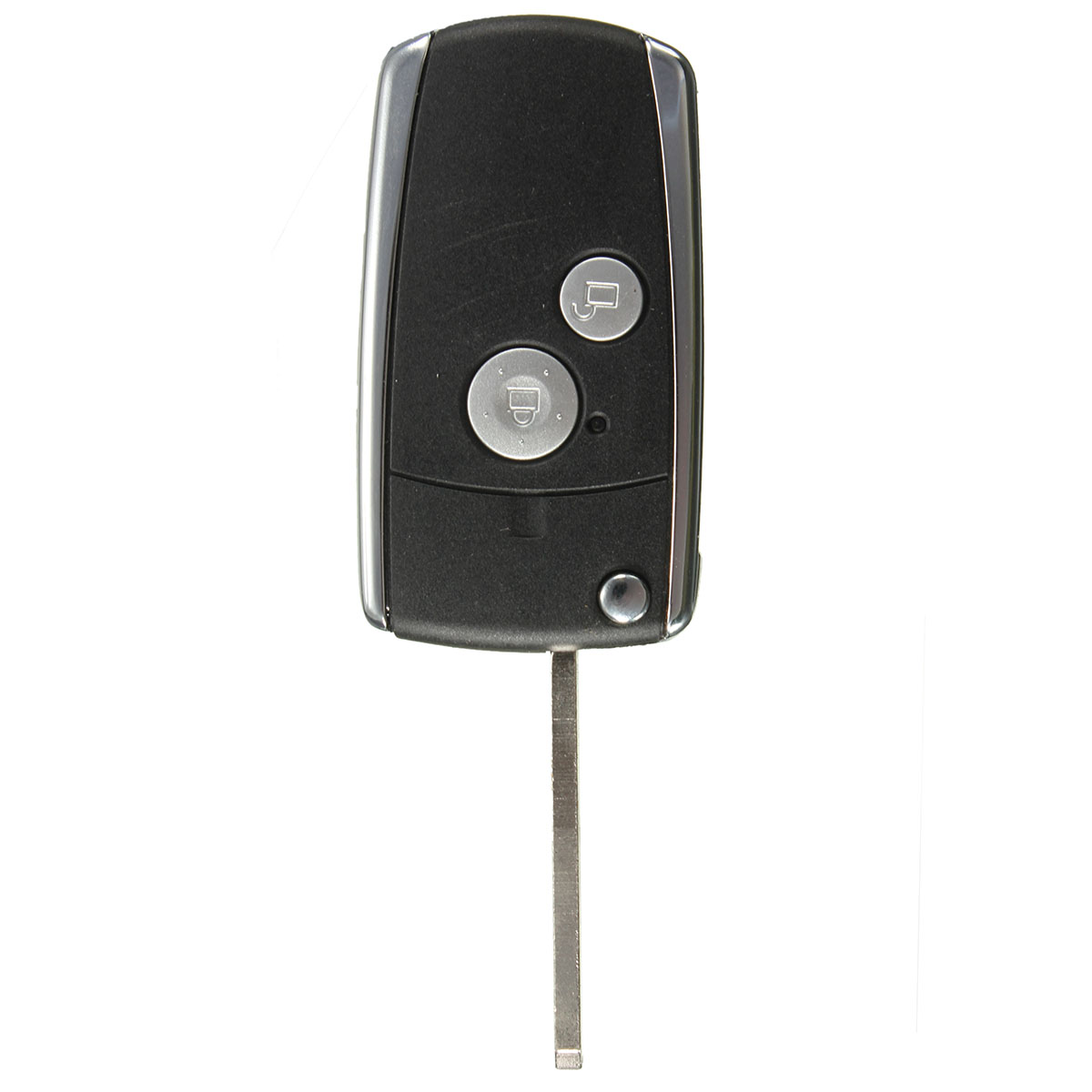 2 Buttons Remote Black Flip Key Shell For Honda CIVIC CRV JAZZ ACCORD ODYSSEY