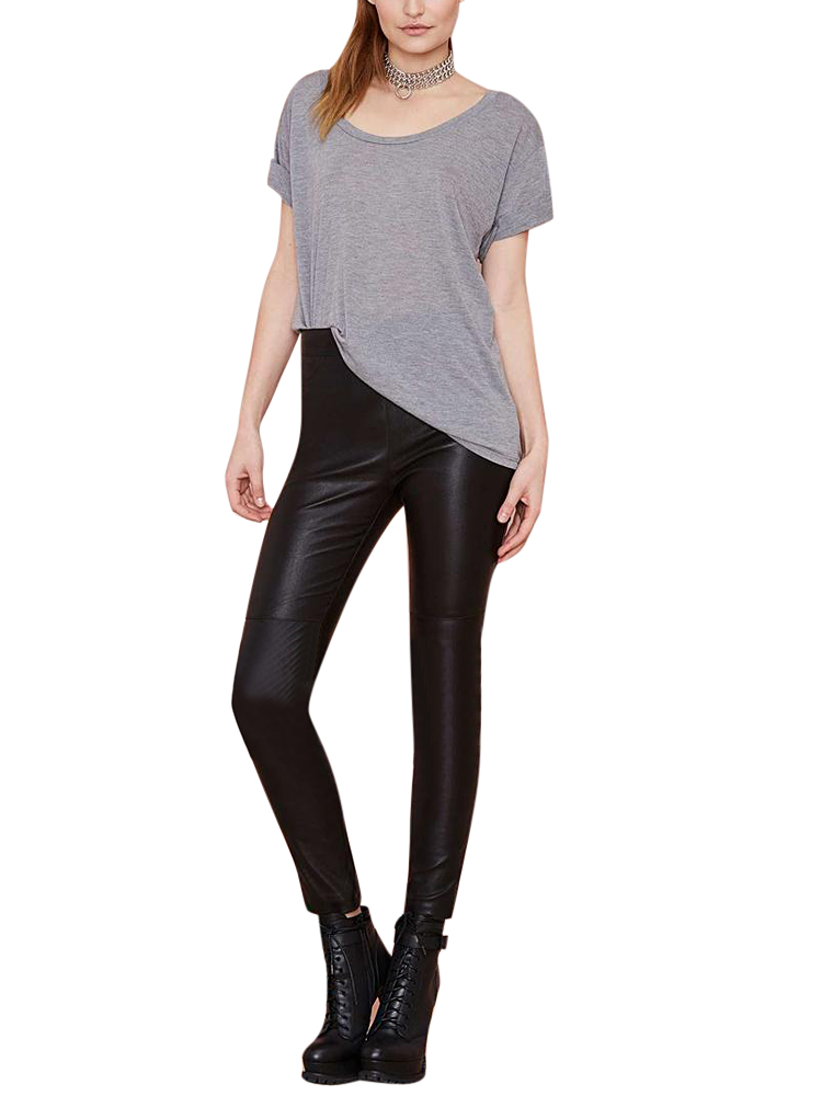 Tight PU Leather Pants