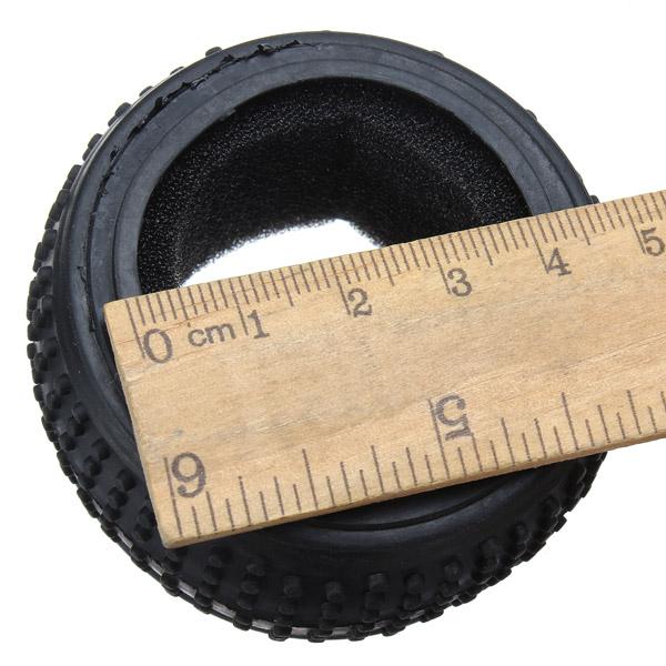 Cochecillo yikong neumáticos y espuma 1/18 rc piezas de automóviles 18060
