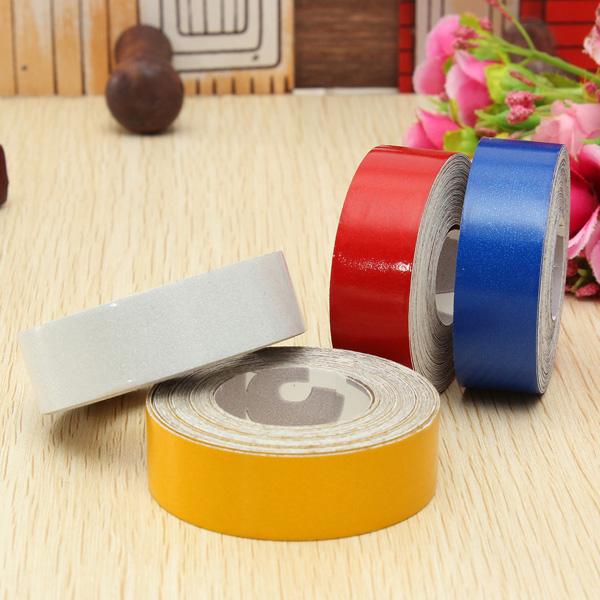 5m moldeo decoración exterior interior cinta alerta reflexivo etiqueta luminosa