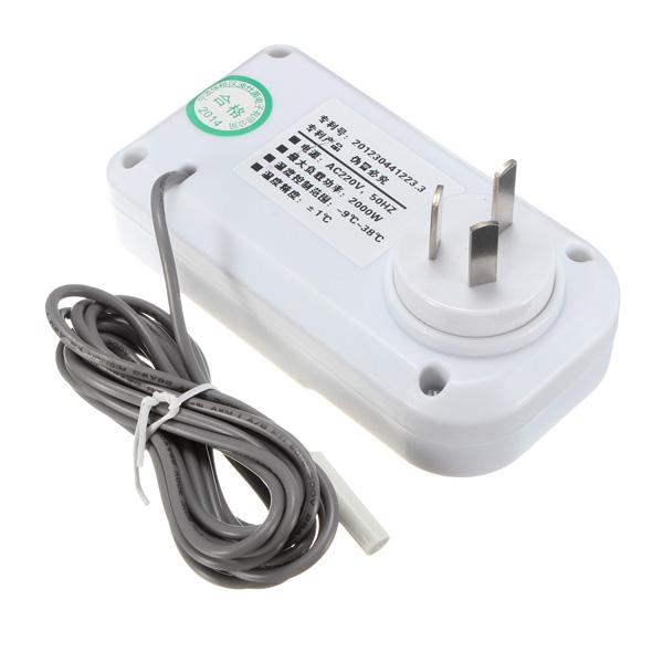 Incubateur de réfrigérateur d'aquarium de contrôleur de température de thermostat lcd numérique intelligent