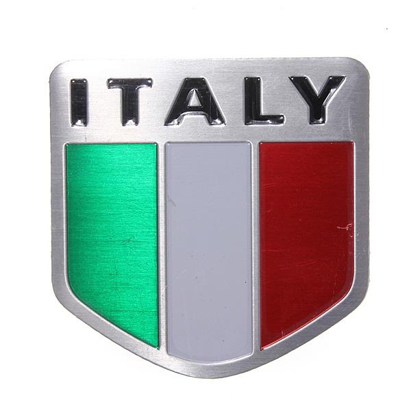 Italy liga emblema bandeira esportes de corrida de metal auto decalque emblema etiqueta