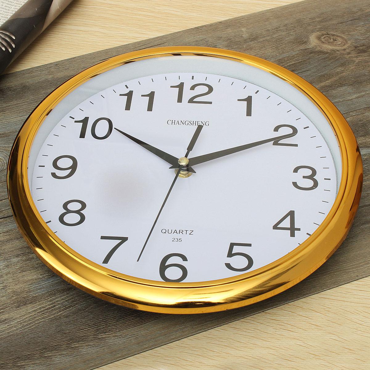 Retro Kitchen Wall Clocks Large Vintage Round Modern Home Bedroom Retro Time Kitchen Wall
