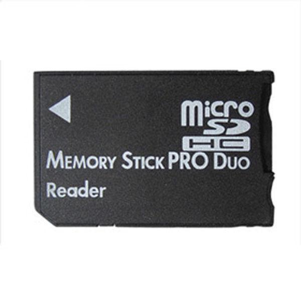 Micro Sd Sdhc Tf To Memory Stick Ms Pro Duo Psp Card