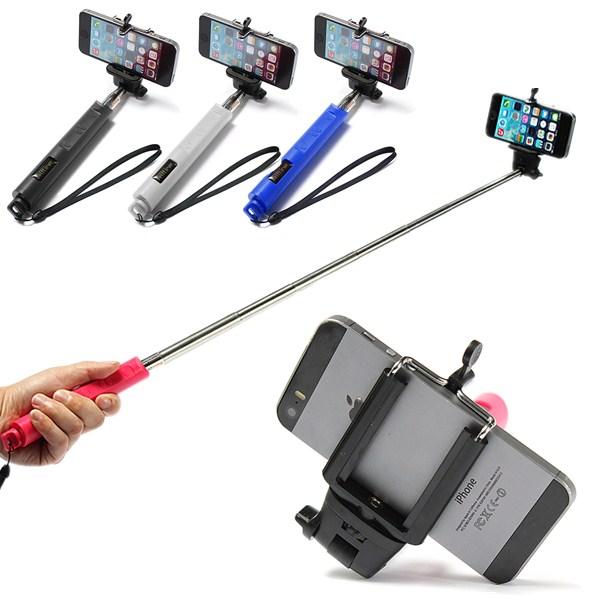 extendable handheld selfie stick monopod bluetooth for iphone samsung htc sony pink lazada ph. Black Bedroom Furniture Sets. Home Design Ideas