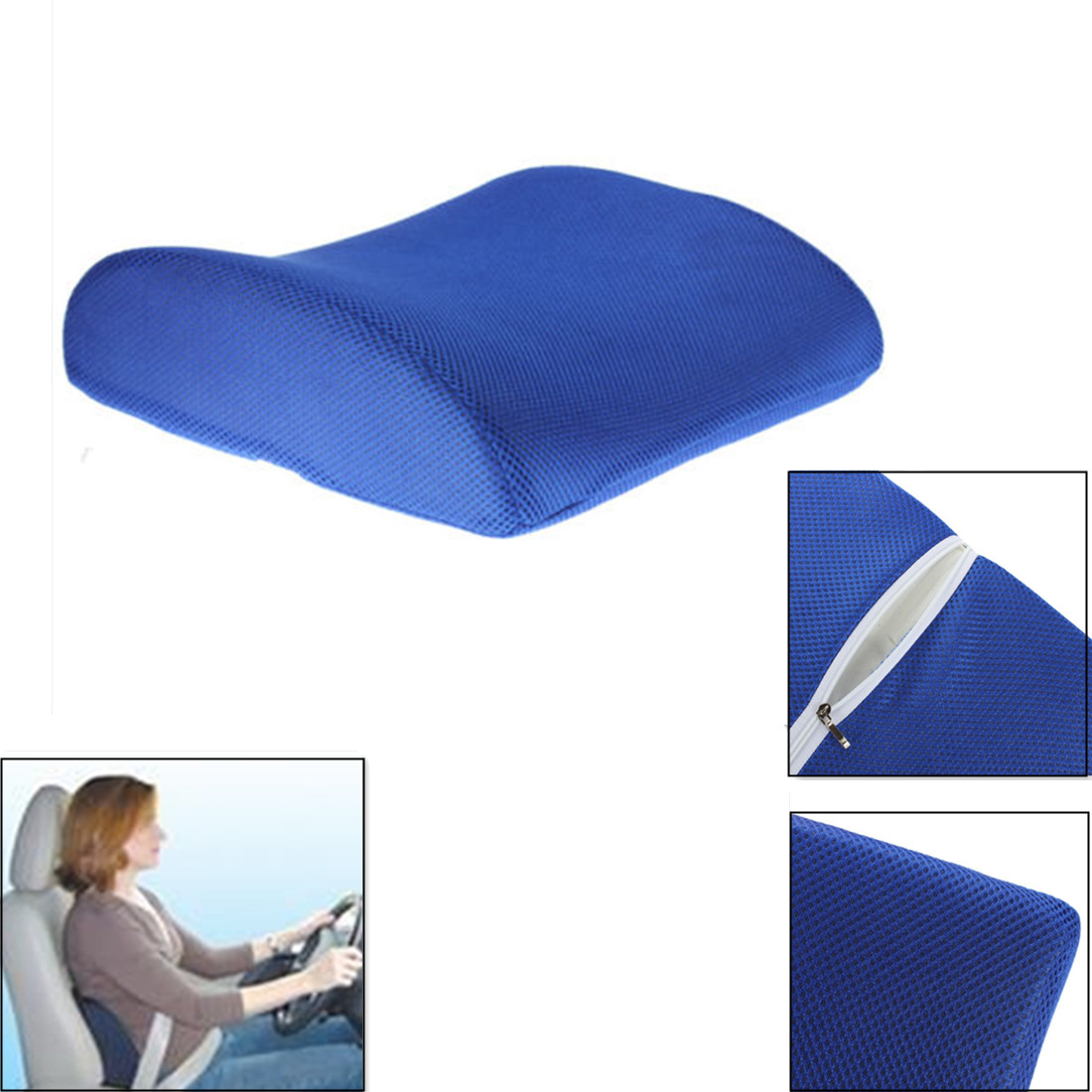 Foam Lumbar Back Support Cushion Pillow For Office Home Car Seat Chair