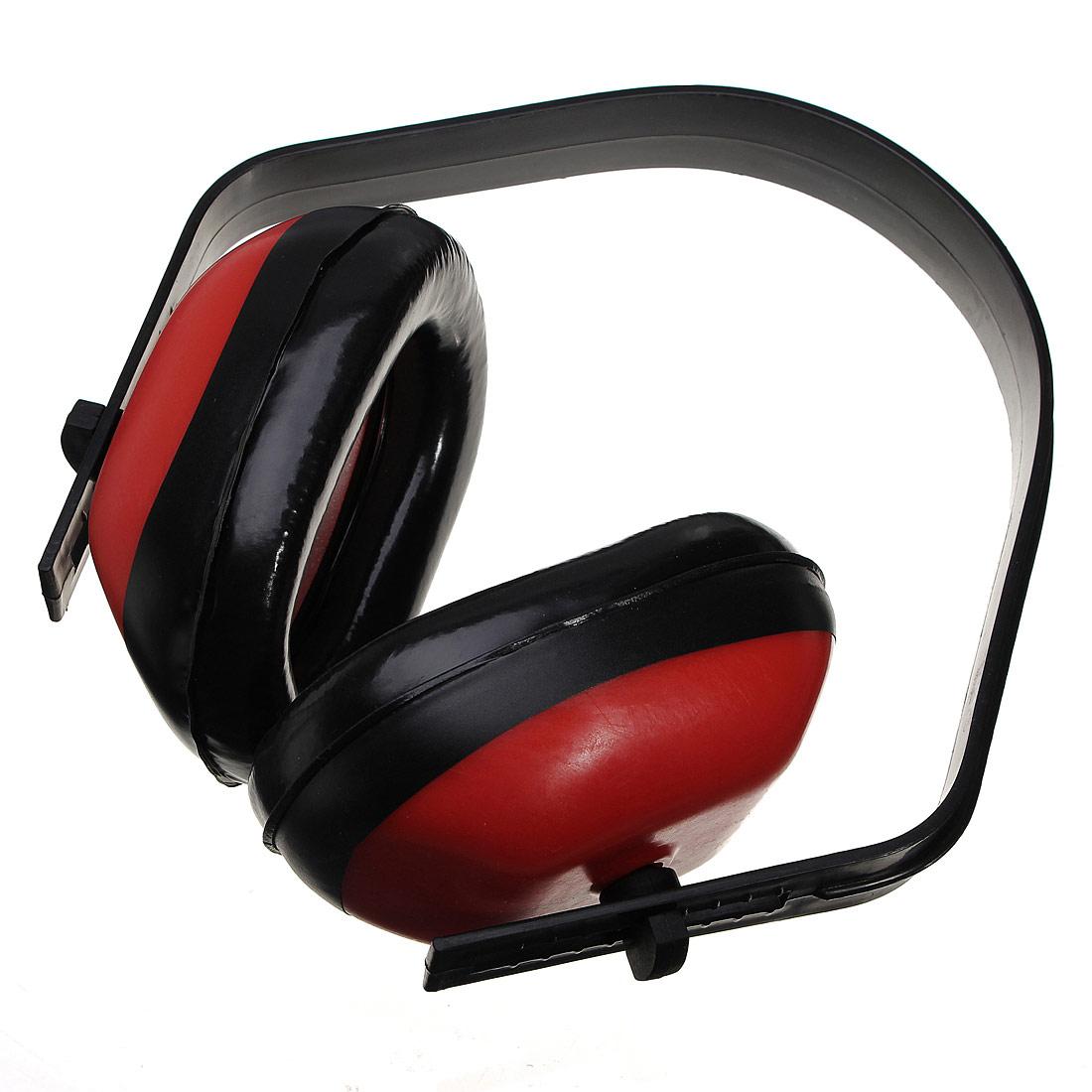 Adjustable Ear Muff Muffler Noise Hearing Protector ...