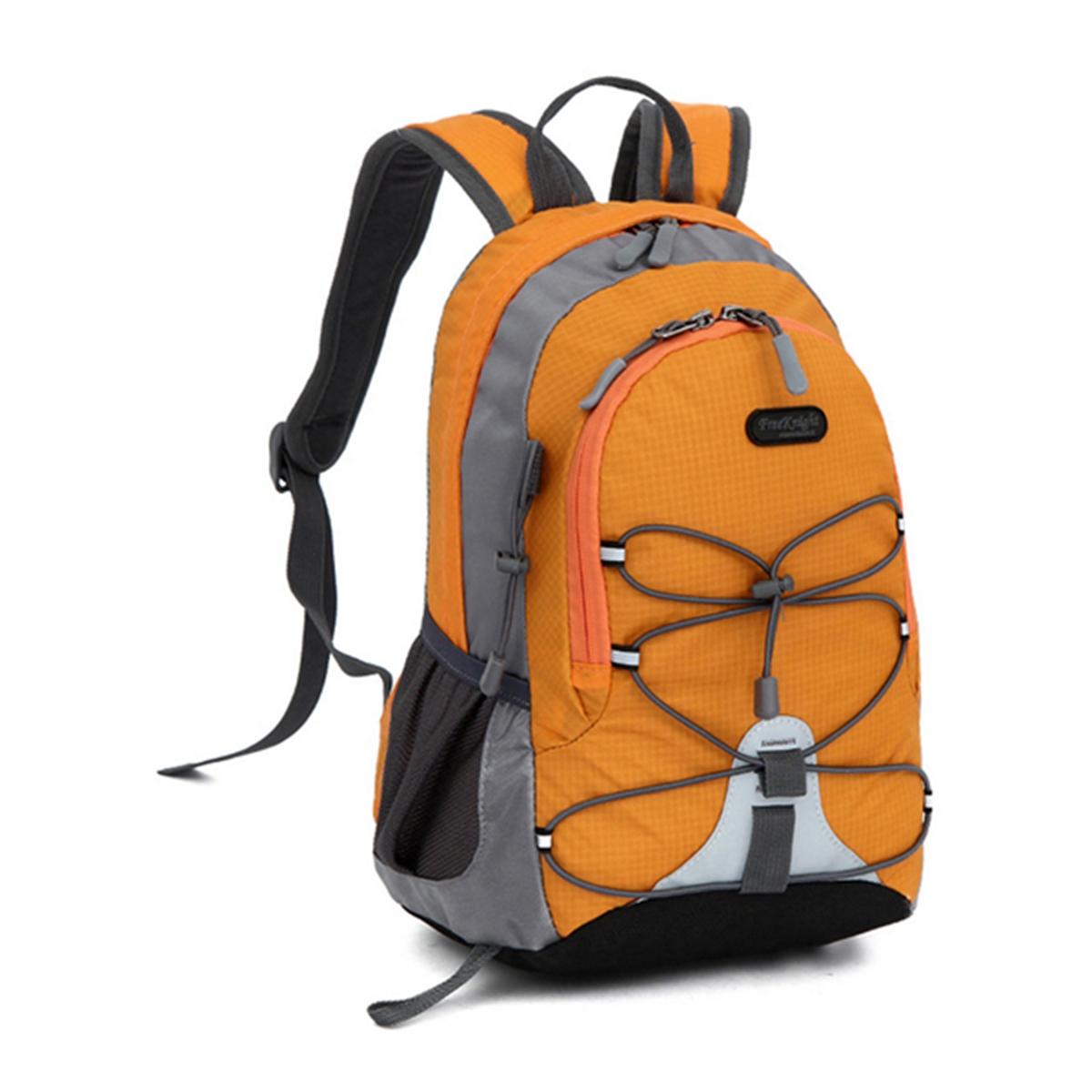 children waterproof bookbag travel rucksack school bag orange lazada indonesia. Black Bedroom Furniture Sets. Home Design Ideas