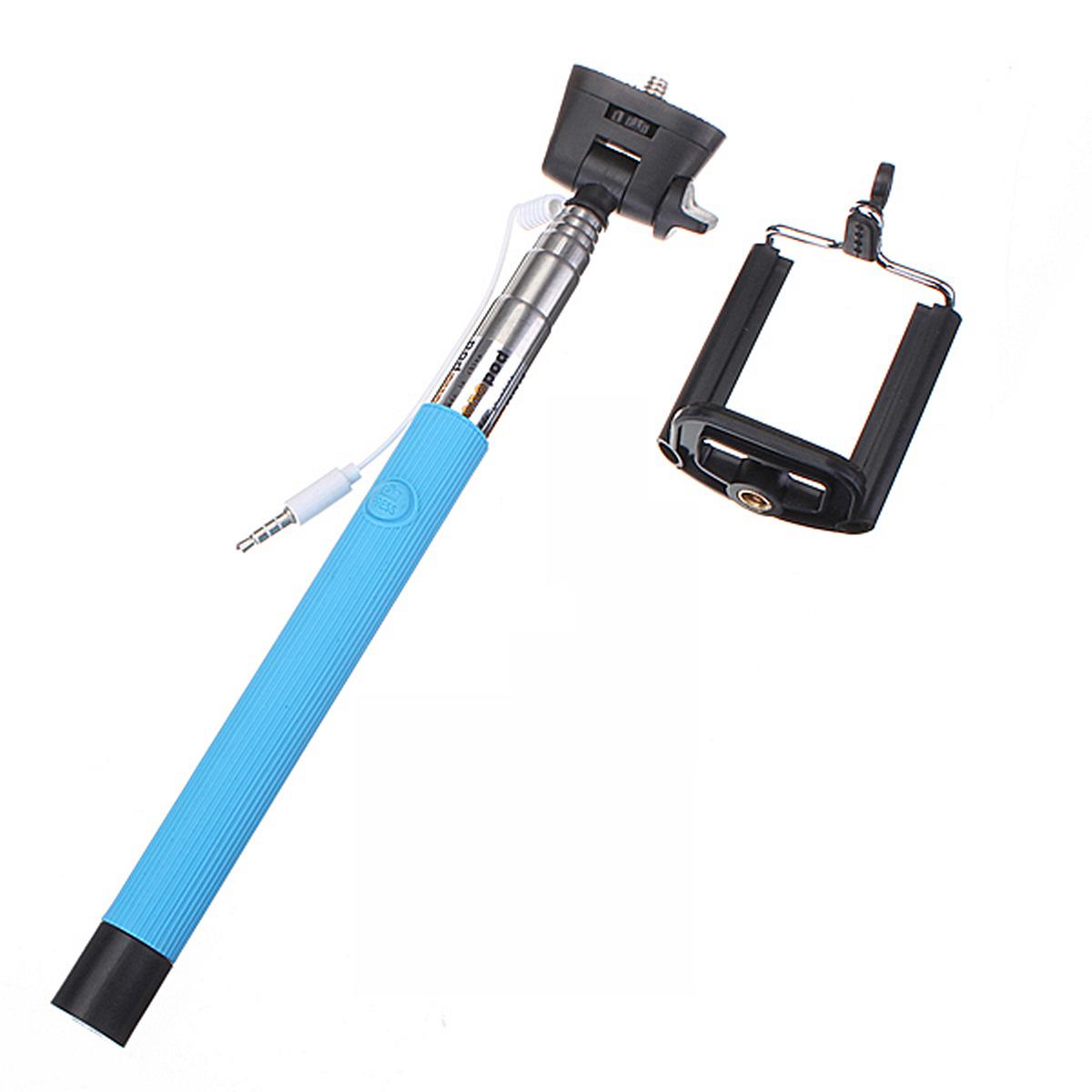 106cm telescopic handheld monopod selfie stick white lazada malaysia. Black Bedroom Furniture Sets. Home Design Ideas