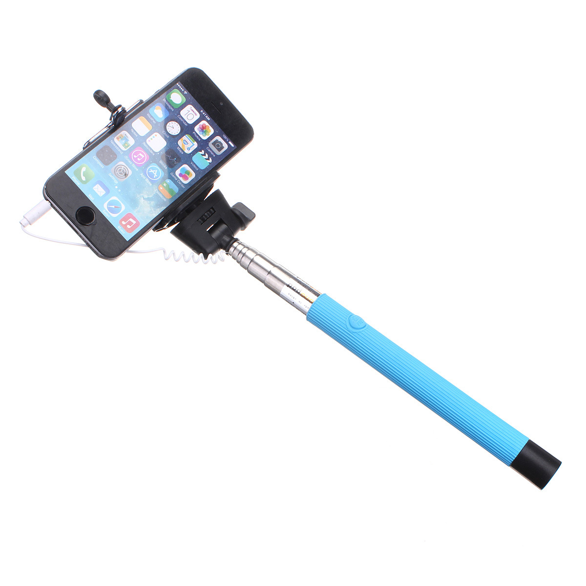 106cm telescopic handheld monopod selfie stick green lazada ph. Black Bedroom Furniture Sets. Home Design Ideas