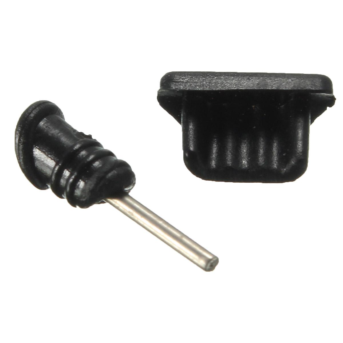 Universal Jack Nut : Mm earphone jack micro usb cell phone port plug cover