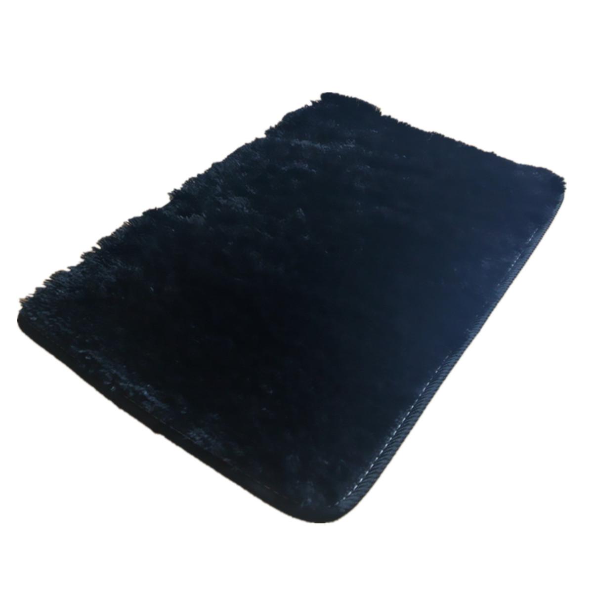 2Pcs Fluffy Anti skid Shaggy Area Rug Yoga Carpet Home