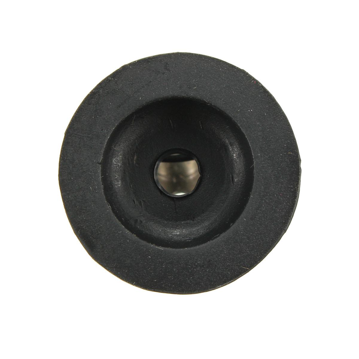 Black 28mm rubber door stop stopper cylinder jam wedge home door floor holder lazada ph - Rubber door stoppers ...