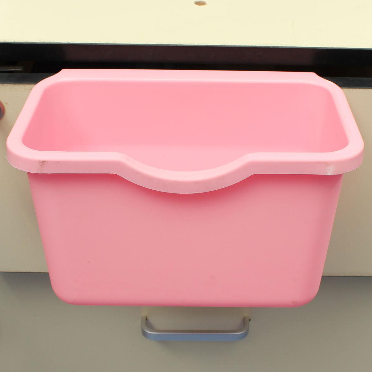 Desktop door kitchen garbage storage box pink lazada ph - Pink kitchen trash can ...