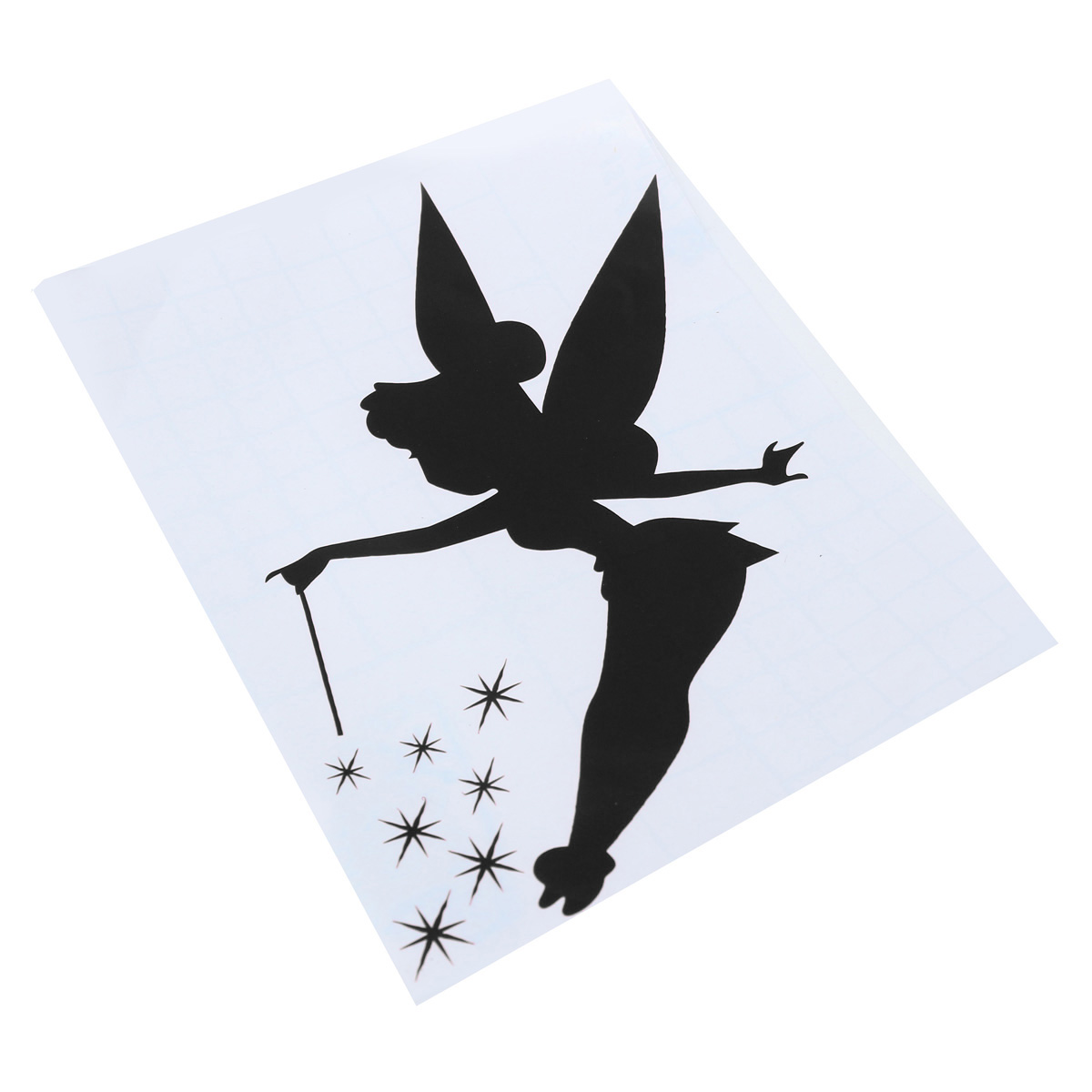 Fairy Light Switch Sticker Surround Childrens Bedroom Wall