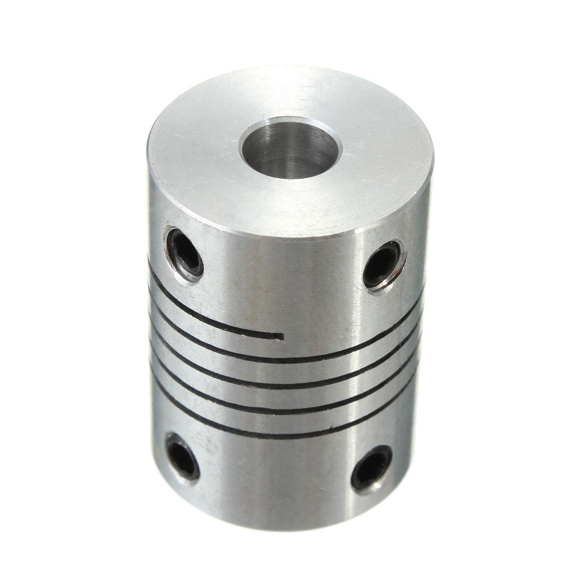 Flexible shaft coupling rigid cnc stepper motor coupler for Stepper motor shaft coupling coupler