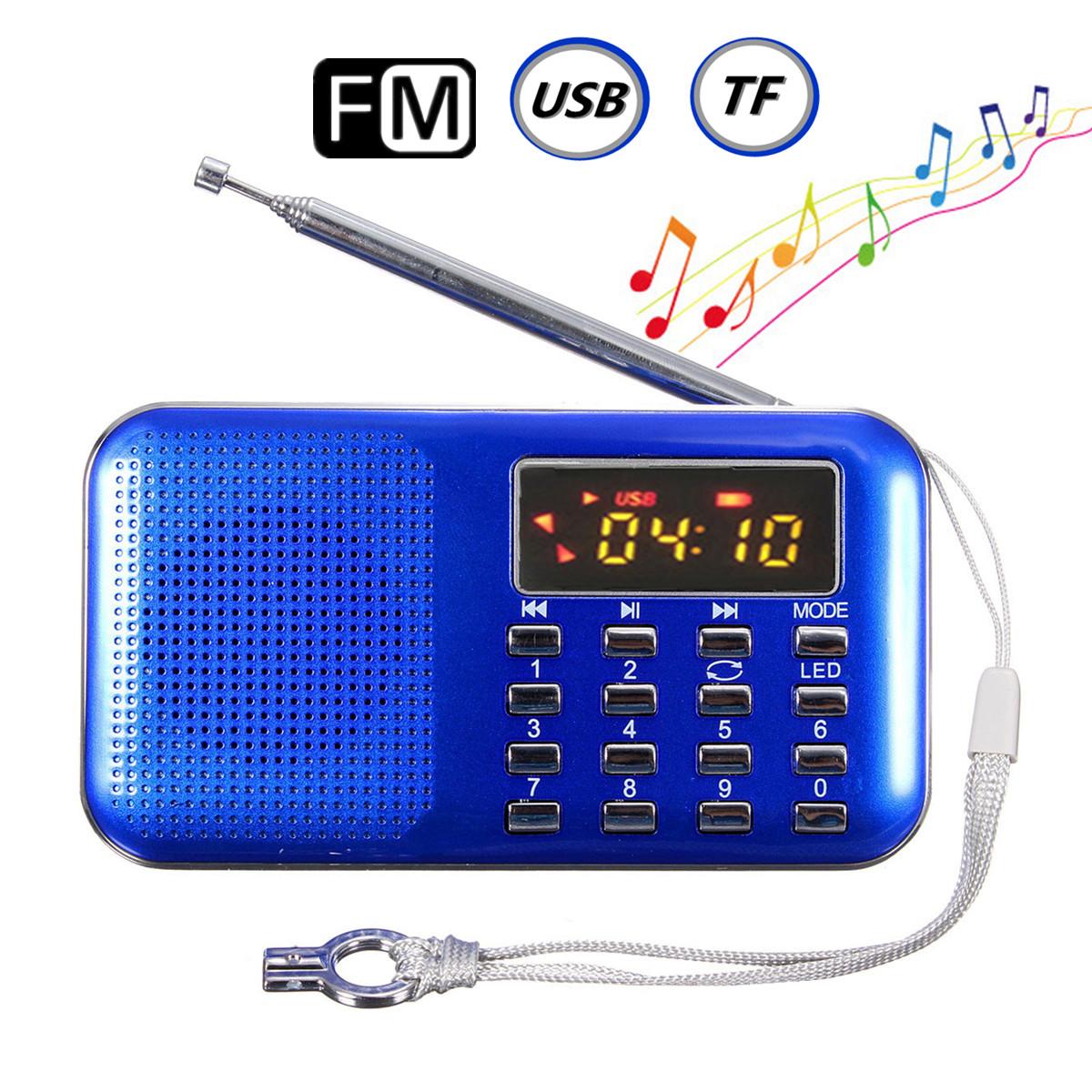 mini portable led digital fm radio speaker usb micro sd tf. Black Bedroom Furniture Sets. Home Design Ideas