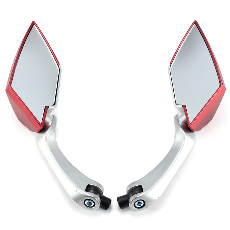 Universal Motorcycle Scooter Side Rear View Mirrors