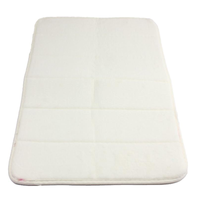 40cmx60cm Memory Foam Rug Mat Bathroom Bedroom Non-slip