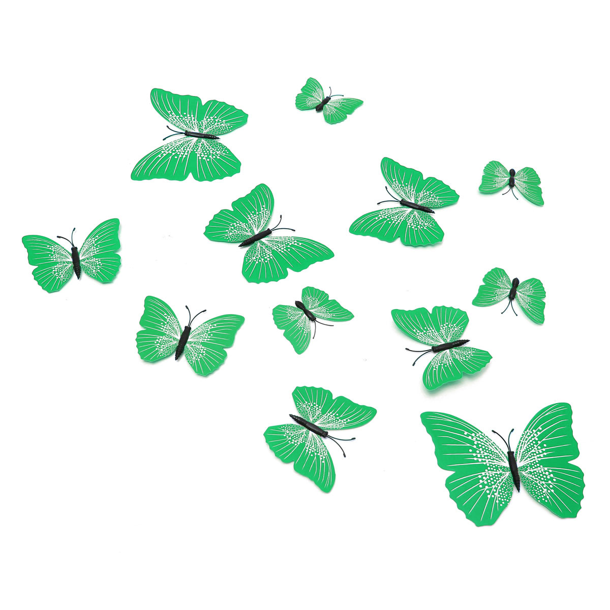 Sticker art design decal wall stickers home decor room for Butterfly decorations for home