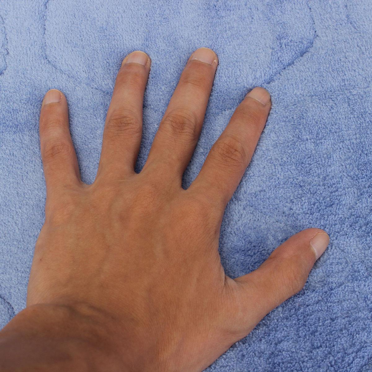 40 X 60cm Absorbent Soft Memory Foam Mat Bath Bathroom Rug