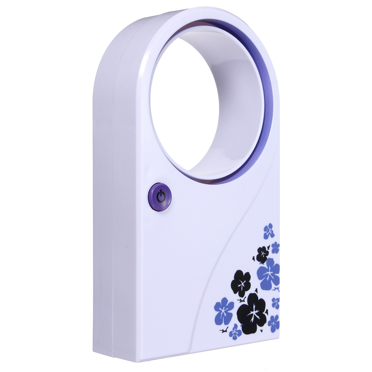 No Leaf Mini Handheld Desk Stand Silent Air Conditioner