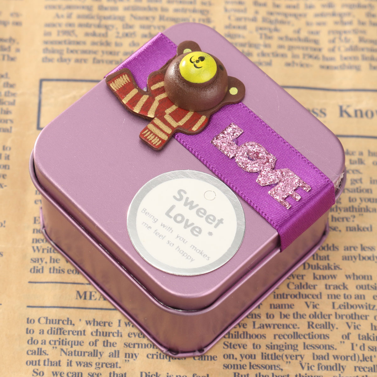 ... Creative Mini Candy Wedding Gift Boxes Purple S Lazada Singapore
