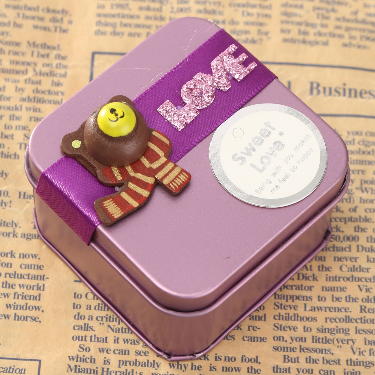 ... Creative Mini Candy Wedding Gift Boxes Purple S Lazada Singapore