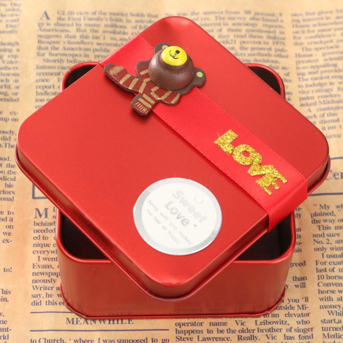 Wedding Gift Boxes Wholesale Singapore : ... Tin Cartoon Creative Mini Candy Wedding Gift Boxes Red M (EXPORT