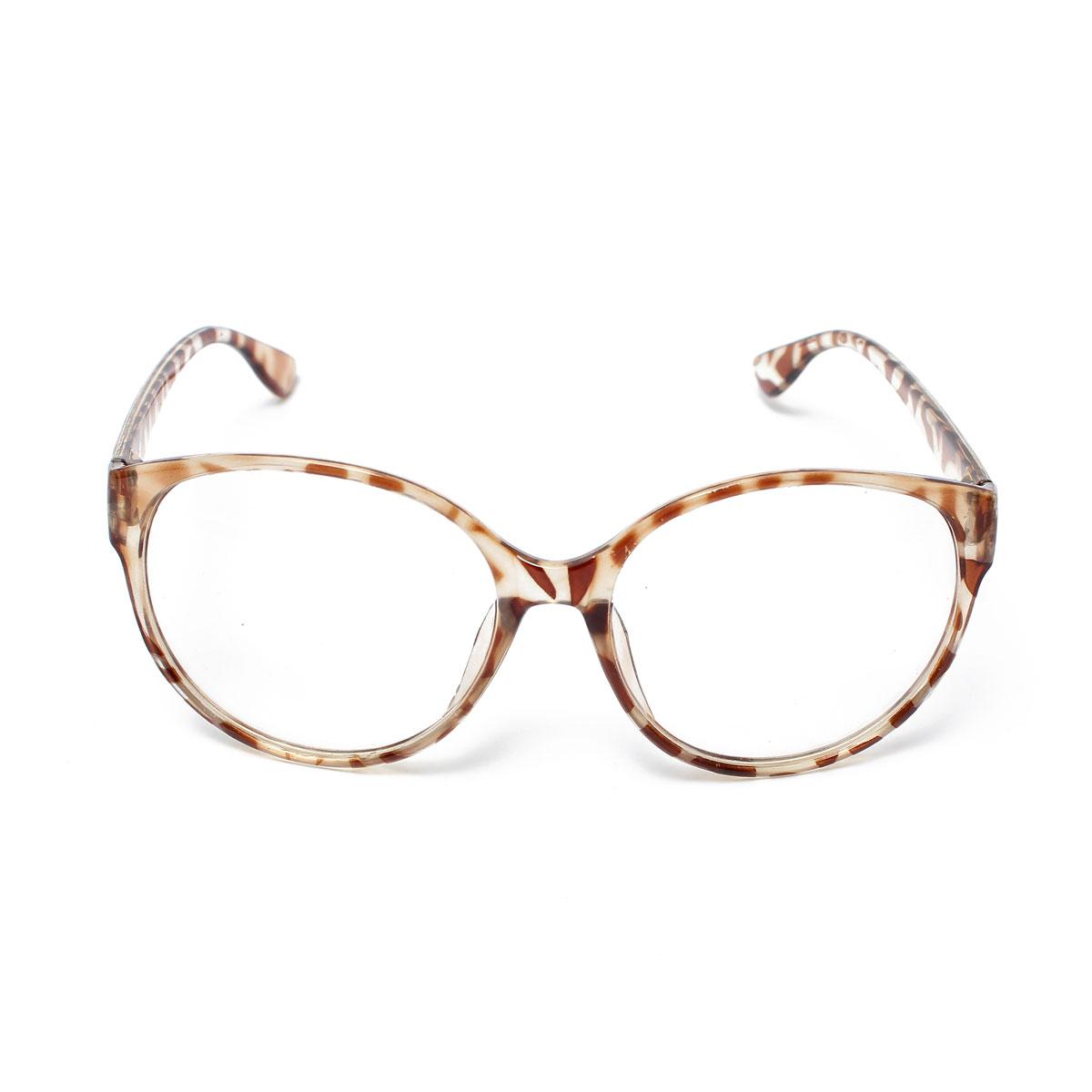 Retro Round Lens Eyeglass Frame Decoration Leopard Lazada PH