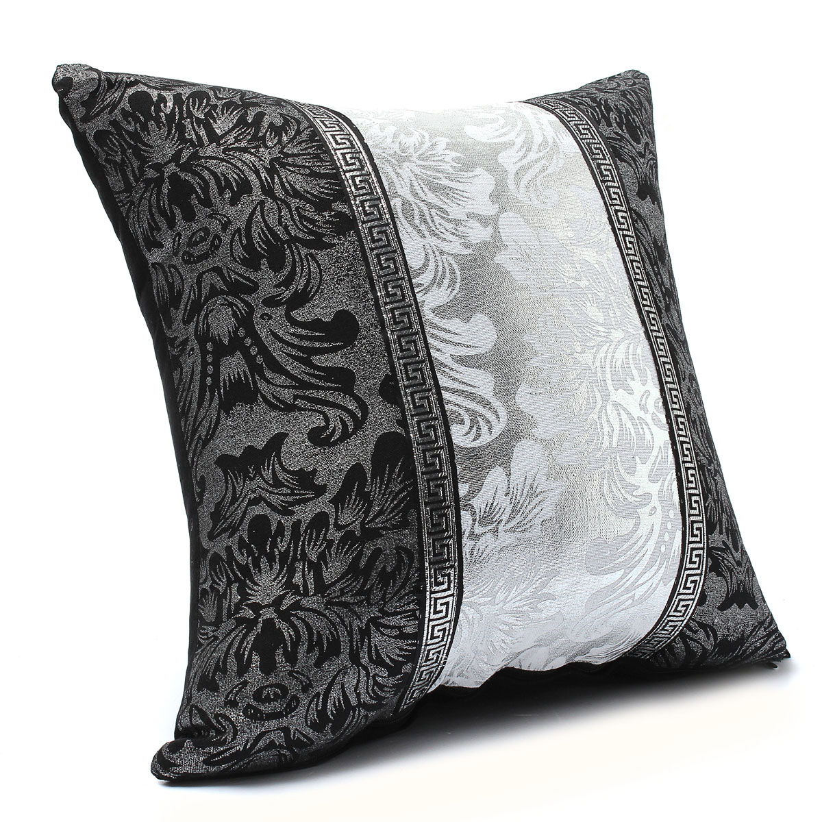 Black And White Decorative Pillow Cases : Black and White Porcelain Pattern Home Decor Sofa Throw Pillow Case Cover Style1 Lazada PH