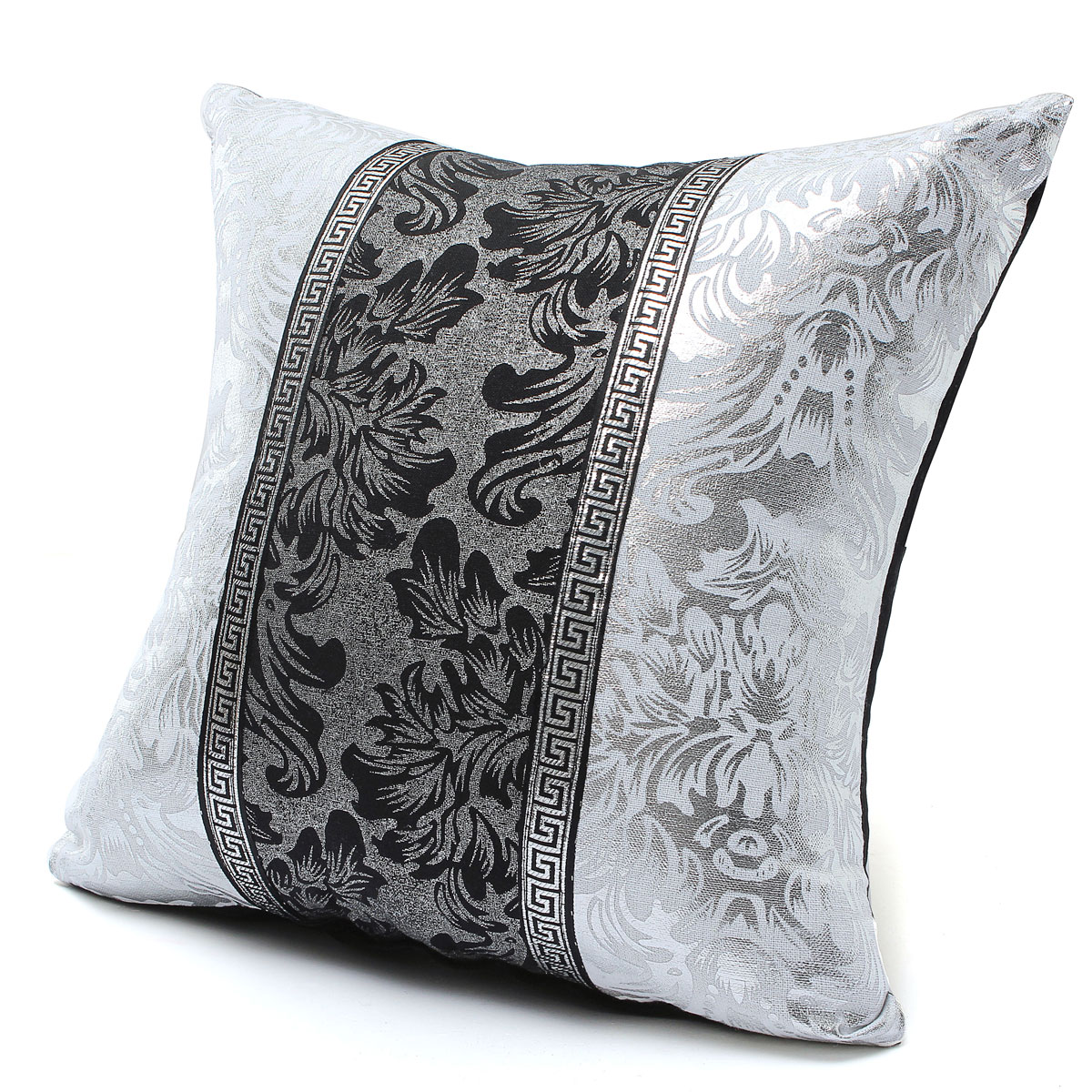 Black And White Decorative Pillow Cases : Black and White Porcelain Pattern Home Decor Sofa Throw Pillow Case Cover Style3 Lazada Singapore