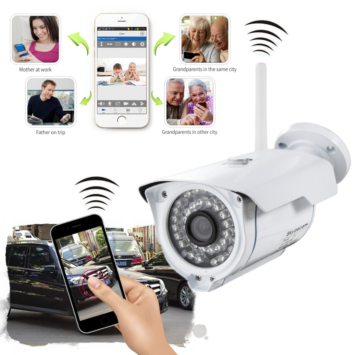 sricam outdoor hd 720p wifi wireless ip cctv network security camera megapixel us lazada malaysia. Black Bedroom Furniture Sets. Home Design Ideas