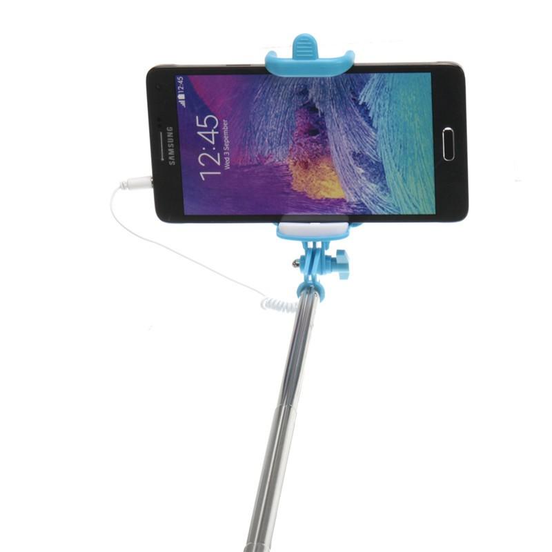 24cm wireless bluetooth extendable selfie stick monopod blue intl lazada ph. Black Bedroom Furniture Sets. Home Design Ideas