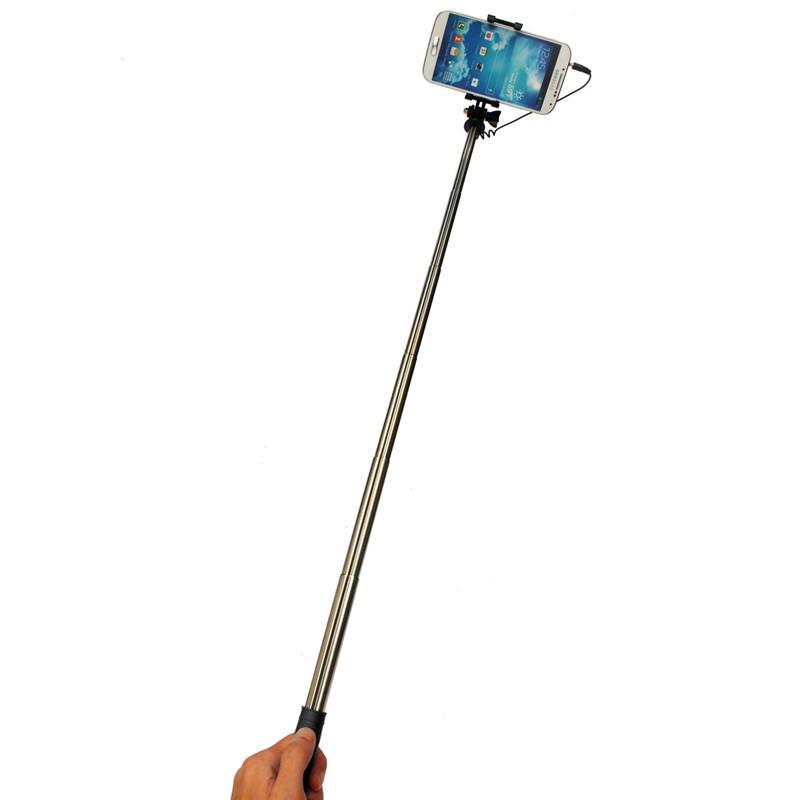 universal handheld self portrait selfie stick extendable monopod holder stick. Black Bedroom Furniture Sets. Home Design Ideas