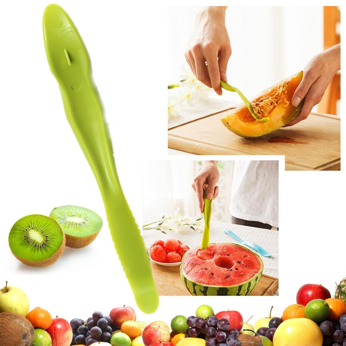 Open Peeler Slicer Cutter Picnic Travel Kitchen Cutter Cook Tool Green
