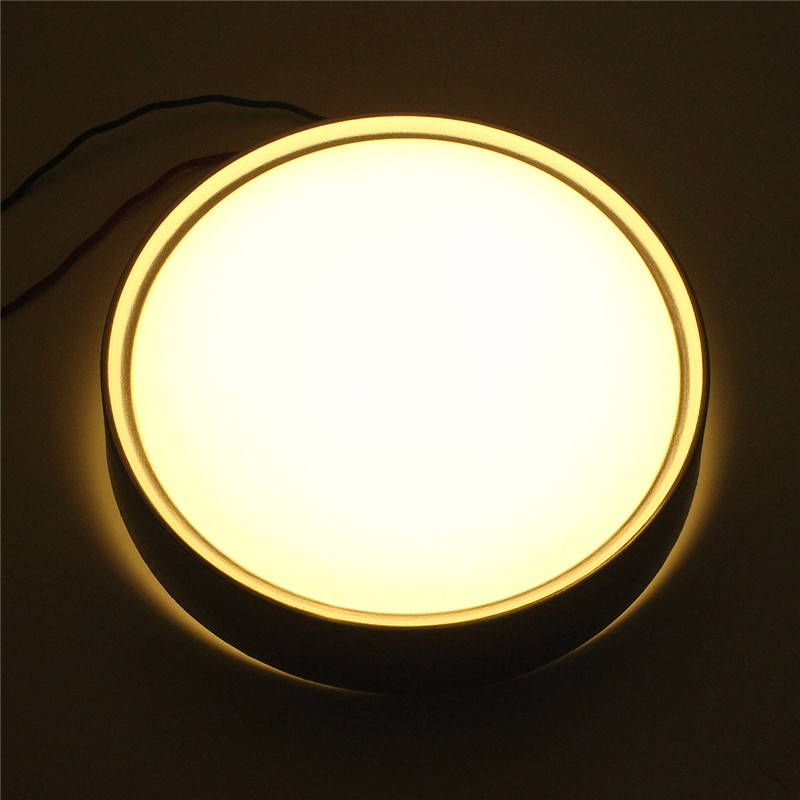 12W LED IR Sensor Flush Mounted Ceiling Down Light Wall Kitchen Bathroom Lamp Warm White ...