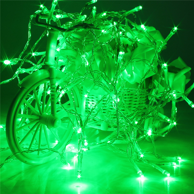 10M Battery Powered Operated LED Fairy String Light Lamp Christmas Halloween Green Lazada PH