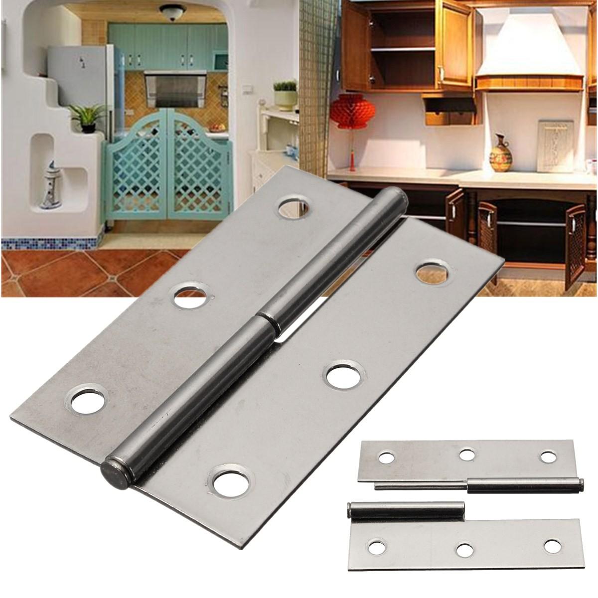 3 cerniere cerniera acciaio inox per mobili mobile porta - Mobili in acciaio ...