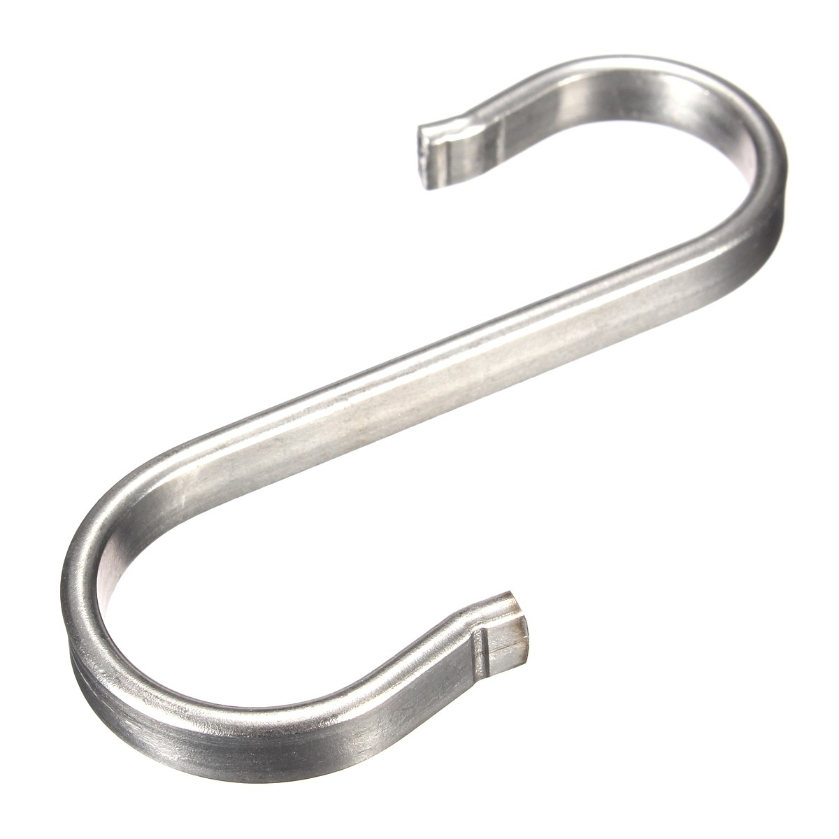 Home kitchen s shape hooks stainless steel hanger clasp for Kitchen s hooks for pots and pans