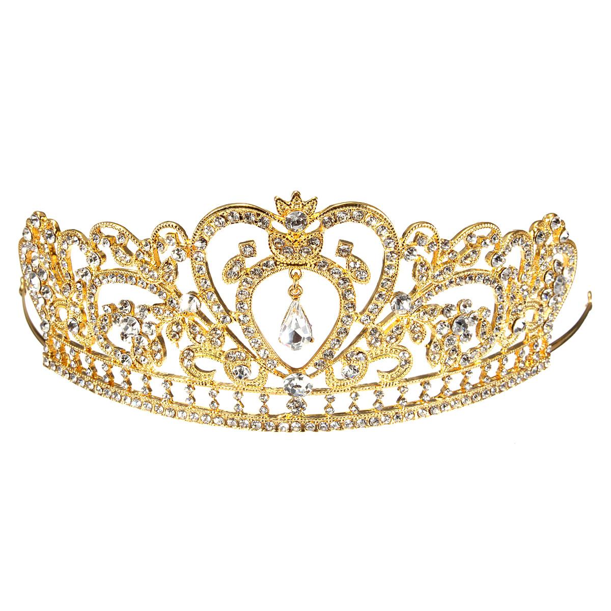 bandeau serre tte couronne cristal diadme tiare bandeau cheveux bij - Diademe Mariage Pas Cher