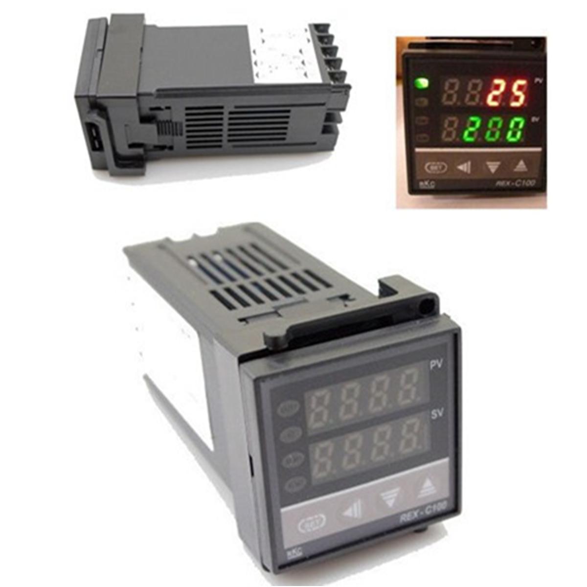 Dual PID F/C 400°C Digital Temperature Control Controller (Intl  #654034