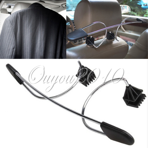 metal car coat hanger auto seat headrest clothes jackets suits holder lazada ph. Black Bedroom Furniture Sets. Home Design Ideas