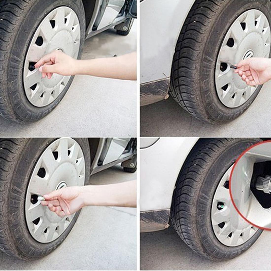 car auto tire pressure monitor indicator alert valve stem cap sensor 36psi 4pcs intl lazada ph. Black Bedroom Furniture Sets. Home Design Ideas