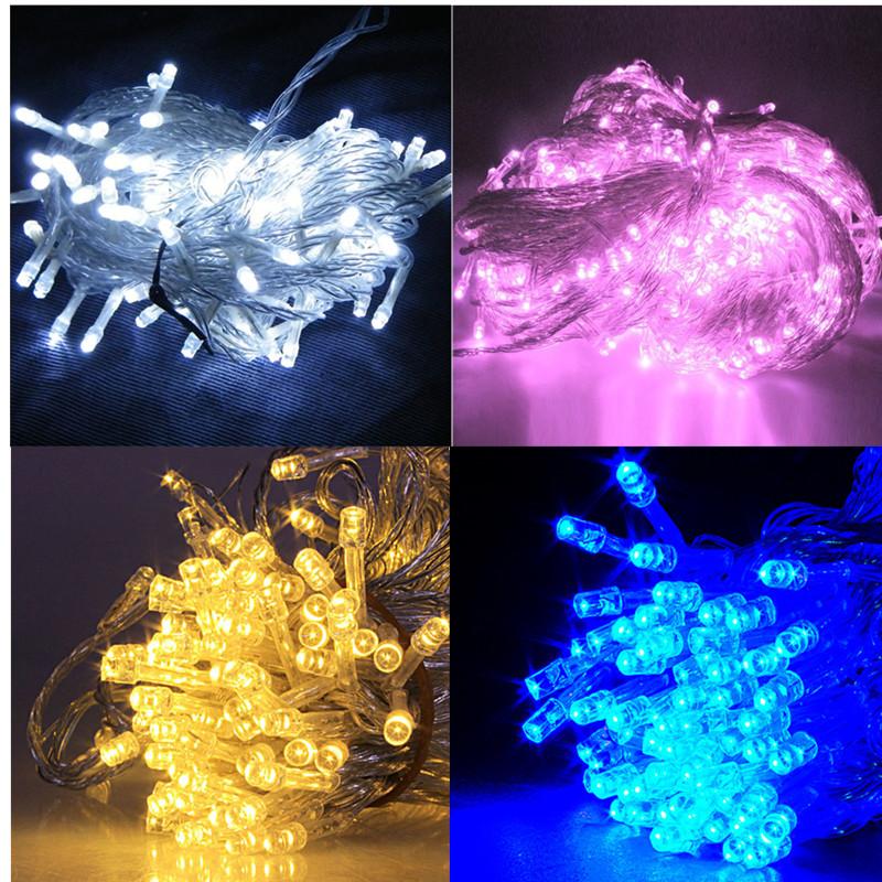 30M 300 LED Christmas Tree Party Wedding Fairy String Light Lamp White Lazada Malaysia