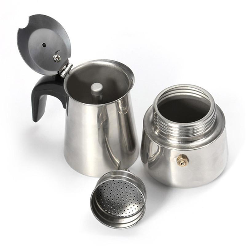 Espresso Coffee Maker Percolator : 2-Cup Percolator Stove Top Coffee Maker Moka Espresso Latte Stainless Steel Pot Lazada Malaysia